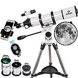 Gskyer Telescope, AZ90600 Instruments Infinity Refractor Telescope