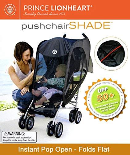 Prince Lionheart Sonnenschutz für Kinderwagen, belüftet, UV-Schutz, Sonnenschutz, Windschutz, Insektenschutz