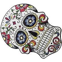 1pcs Impresión Ropa Cráneo Pegatina De Hierro En Transferencia para Camiseta