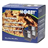 Artemia Sieb Kombination, 4 Siebe, 180, 300, 560, 900 my