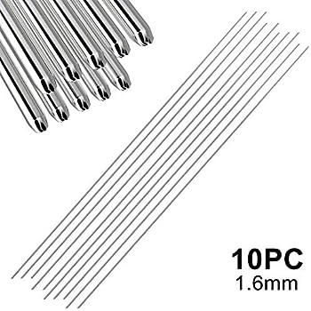 Tig Soudage /Électrodes /à Fil avec 4,0 mm X 1000 mm /Ø pour Wig 1kg 3.3536 Almg3 Aluminium Baguette de Soudure