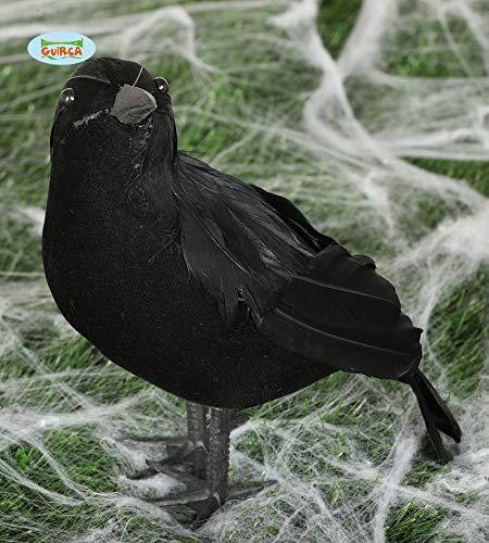 Guirca Rudy Corvo Negro Halloween, 25cm, Color, 1