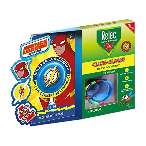 Relec Pulsera antimosquitos, Duración 2 meses, 1 pulsera, Flash