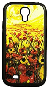 Zeztee ZT7579 Multicolor print Mobile Back Cover For Samsung S4 (9500)