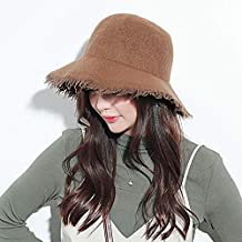Vinteen Versión Coreana Gorro de Lana Retro Cap Sombrero Gorra Lateral  Otoño e Invierno Sombrero de 26b968595fd