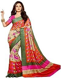 Mansi Creation - Bhagalpuri saree - sadi for fashion ........(B-7,multi)