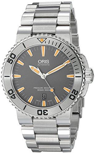 Oris-Aquis-73376534158MB-43mm-Automatic-Silver-Steel-Bracelet-Case-Anti-Reflective-Sapphire-Mens-Watch