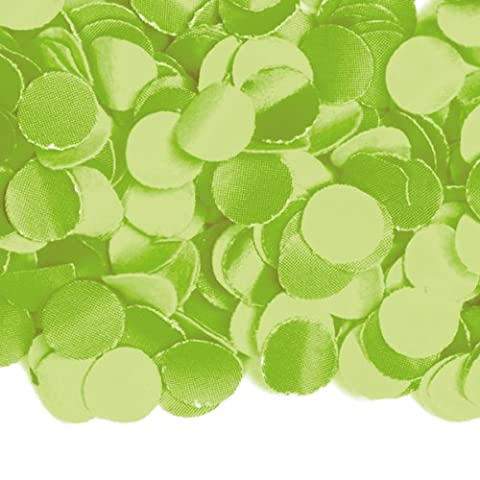 Luxus Konfetti * HELLGRÜN * aus Papier // 100gr. // Confetti Party Feier Hochzeit Kindergeburtstag Geburtstag Pinata Füllung Deko Grün Green (Grundpreis: 1,99 (Party-feier Pinata)