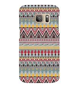 ifasho Designer Phone Back Case Cover Samsung Galaxy S7 :: Samsung Galaxy S7 Duos :: Samsung Galaxy S7 G930F G930 G930Fd ( Smoking Girl Womens Style Attitude Girl )