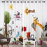 Tende dei cartoni animati,ape/ambientale/polvere/isolamento termico/camera da letto/camera dei bambini/tende per bambini ombra/1 pezzo
