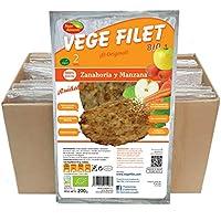 10 paq. Vege Filet Zanahoria y Manzana Bio ( 2 unid. por paq.)