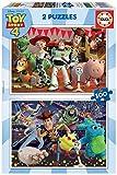 Educa Borrás - Toy Story 4 Puzzle, 2 x 100 Piezas (18107)