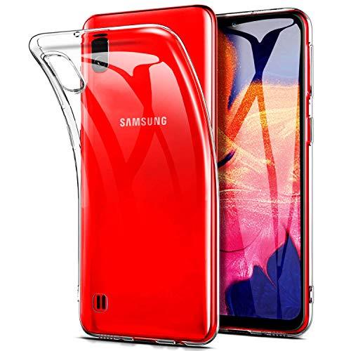 Keteen Samsung Galaxy A10 Hülle, Silikon Transparent Handyhülle für Galaxy A10, Weiche TPU Durchsichtige Schutzhülle Ultradünn Case für Samsung Galaxy A10 - Crystal Clear A10-kamera