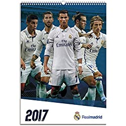 Oficial Real Madrid 2017 -Calendario, A3