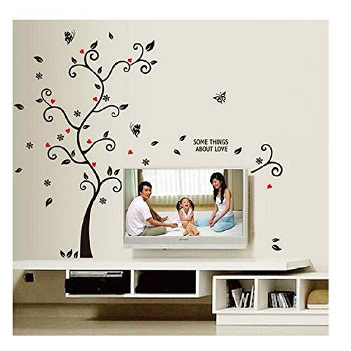 Yesot Wandaufkleber mit Stammbaum-Motiv, DIY Wand-Dekoration, Wand-Aufkleber für Wohnzimmer, Schlafzimmer, Kinderzimmer, Wanddekoration ()