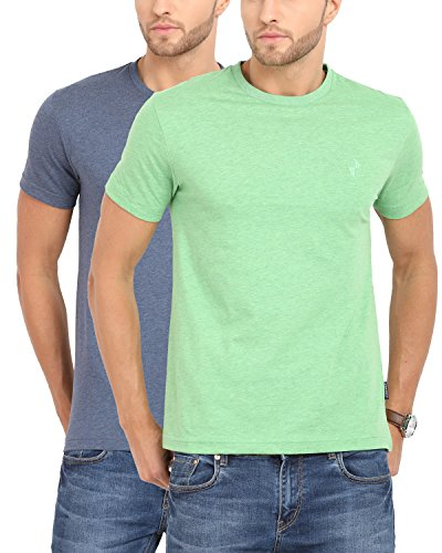 Classic Polo Multicoloured Combo of 2 for Men T-Shirts