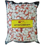 Box2Joy - Making Occasions Special® - Cotton Wicks for Diya (Kesar White) - 1000 Pieces