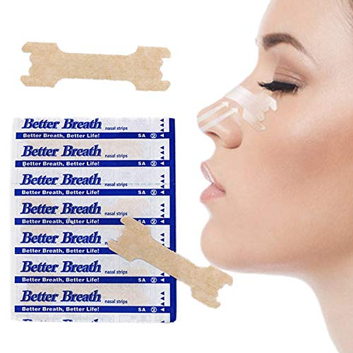 NOTE 500 teile/los (55x16mm) Fabrik Preis Effektive Reduzieren Schnarchen Nasenstreifen Besseren Atem Anti Schnarchen Streifen Schlafhilfe Gerät