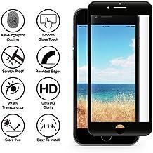 Verre Trempe iPhone 6 Plus / 6S Plus - Film Noir 100% Intégral 3D Protection Ecran Verre Trempe Glass Screen Protector Tempered Ultra Resistant Vitre Ecran Protecteur Anti Rayure Sans Bulle d'Air Dureté 9H Ultra Mince Phonillico®