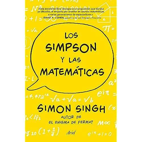 dia del orgullo friki Los Simpson y las matemáticas: Simon Singh autor de El enigma de Fermat (Claves Ariel)