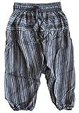 Shopoholic Mode Enfants Hippie Harem En Vrac Boho Pantalon Hippie Vif Enfants Retro Confortable Pantalon - Noir, Large