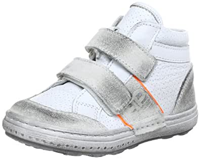 Pinocchio Baby P1670 Off white Combi Leather Baby Shoes White Weiß (Off white) Size: 22