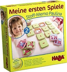 Mes premiers jeux: Mémo tissu Paulina - HABA
