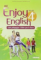 New Enjoy English 4e - Guide pédagogique + fiches classe