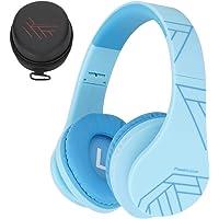 Kinder Kopfhörer, PowerLocus KinderKopfhörer Bluetooth mit 85dB Lautstärkebegrenzung, Faltbar mit Tragetasche, Kopfhörer…