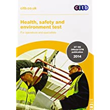 Amazon citb books health safety environment test for operatives specialists gt10014 for fandeluxe Gallery