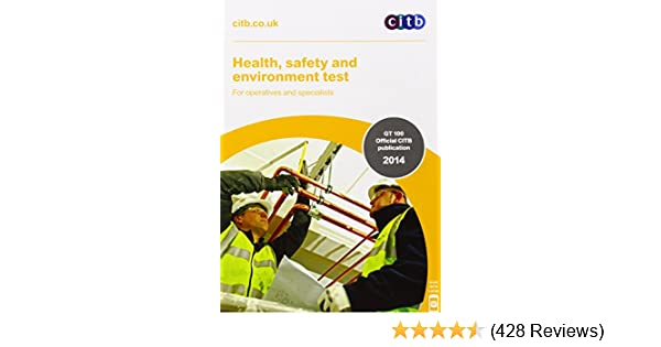 Health safety environment test for operatives specialists health safety environment test for operatives specialists gt10014 for operatives specialists amazon citb 8601404195174 books fandeluxe Images