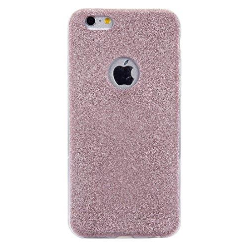 Phone case & Hülle Für iPhone 6 Plus / 6s Plus, Glitter Powder Soft TPU Schutzhülle ( Color : Rose gold ) Rose gold