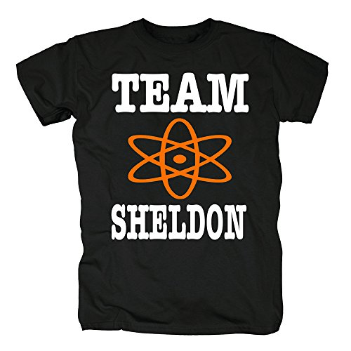 TSP Team Sheldon T-Shirt Herren M Schwarz