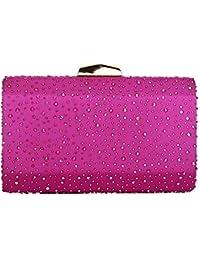 Amazon.es: bolso de mano rosa - Hebilla / Bolsos: Zapatos y ...