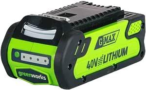 Greenworks Tools Akku G40b2 Li Ion 40 V 2 Ah Wiederaufladbarer Leistungsstarker Akku Passend Für Alle Geräte Der 40 V Greenworks Tools Serie Baumarkt