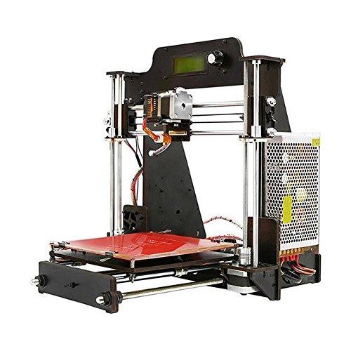 INNOVATION DIY 3D Printer Prusa I3 mit Filament - Erstellen Sie Ihren eigenen Home Desktop 3D Drucker mit diesem DIY 3D Printer Kit , 3d