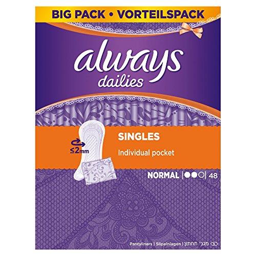 always-dailies-singles-panty-liners-normal-5-x-48-pack