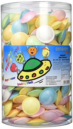 Kuroczik Bunte Super Ufos 300 Stück, 1er Pack (Ufo-süßigkeiten)