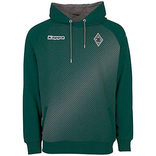 Kappa Herren BMG Sparetime Hooded Sweatshirt, 323 Irland Green, S