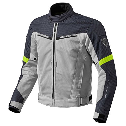 FJT201 - 4120-S - Rev It Airwave 2 Motorcycle Jacket S Silver...