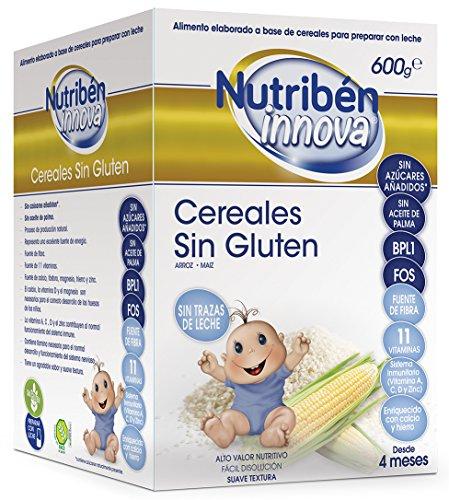 Nutribén Papillas Innova Cereales Sin Gluten Desde
