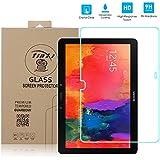 tinxi® Tempered Glass Hartglas Schutzfolie für Samsung Galaxy Tab Pro 12.2 zoll / Samsung Galaxy Note Pro 12.2 zoll Premium Screen Folie Protector Ultra Hart Displayschutz 0,3mm clear 2.5D