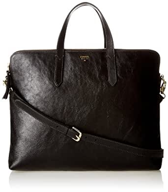 Fossil Sydney Work Cross Body Bag,Black,One Size