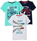 #7: Cherokee Boys' Plain Regular Fit T-Shirt (Pack of 3)