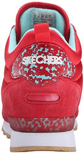 Skechers (SKEES) Equalizer- Mind Game, Scarpa Tecnica Uomo Rosso (RDAQ)