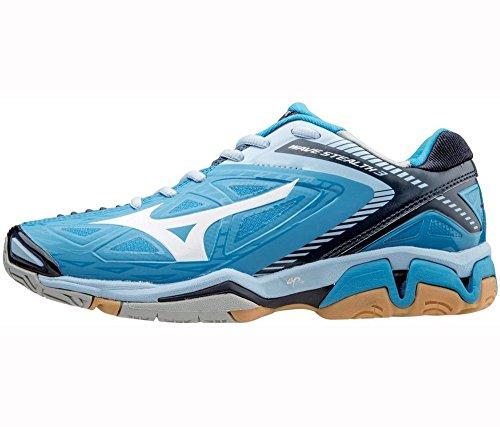 Mizuno Wave Stealth 3, Chaussures de Handball femme Bleu - Bleu