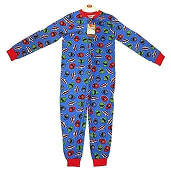 Licence Power Rangers Mega Force Combinaison tout-en-un pyjama pyjama Taille 9–10 ans