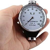 Durómetro de Neumáticos de Caucho Probador Medidor de Dureza 0-100 HA