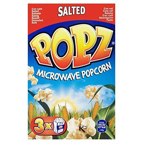 Popz Popcorn Micro-Ondes Salé 3 X 90G - Paquet de 6