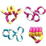 GUT® 2 STÜCK Erwachsene Kinder Geige Spielzeug Finger Hand Sensorische Spielzeug Zappeln Spielzeug Stressabbau Spielzeug Zufällig